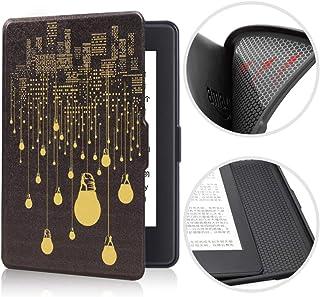 BENGKUI Miękkie etui do Amazon Kindle Paperwhite 4 Flip Smart Shell Cover z funkcją Auto Sleep Wake Feature Cover Silikon ...