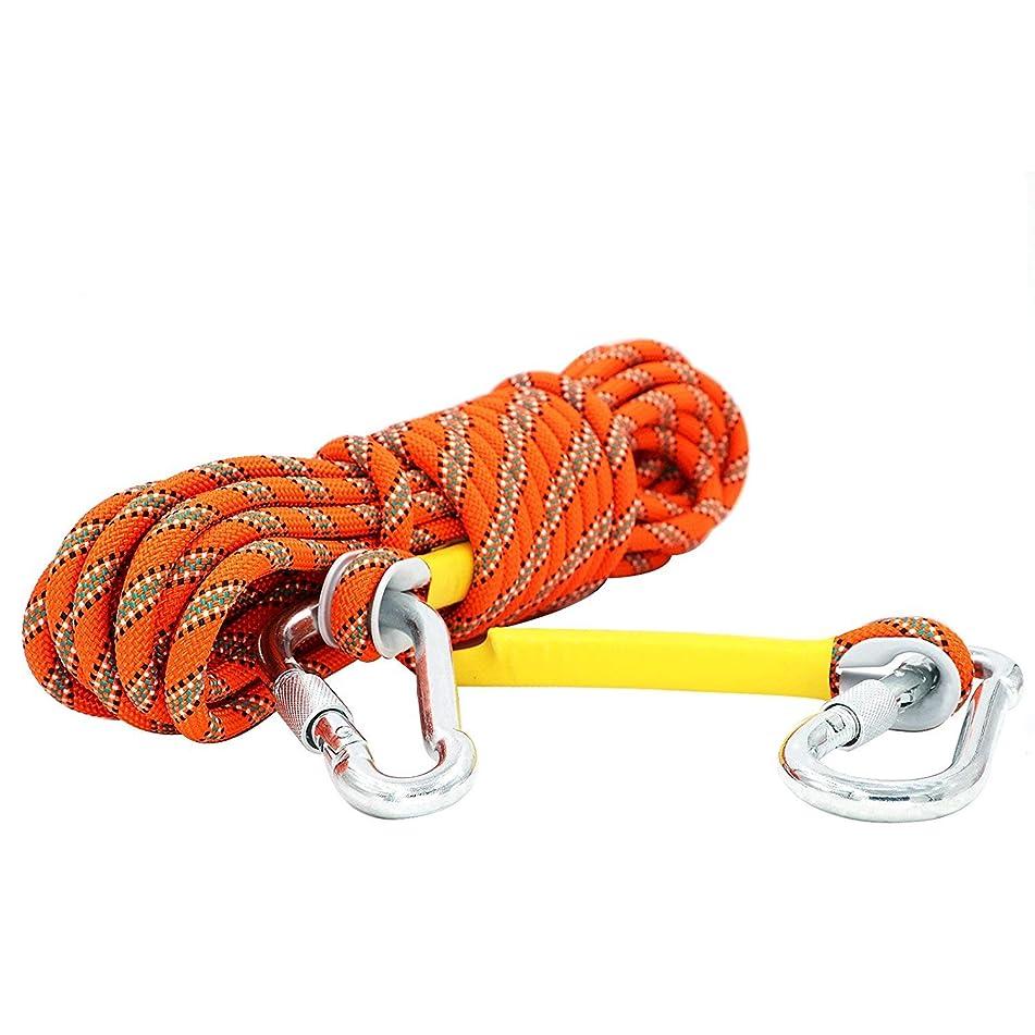伸ばす冊子発明する多目的ロープ スタティック クライミング ロープ 太さ 8mm 10mm (長さ 10m 20m 30m)