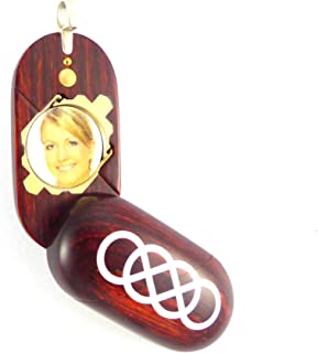 Illusion Lockets Double Infinity Illusionist Locket Necklace Urn with Secret Compartments for Holding Cremation Ashes, Medications, Notes
