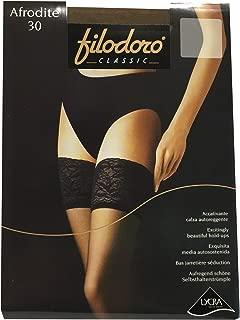 FILODORO calza donna da reggicalze colore glacé mod PERFIDA BAS 83/% poliammide