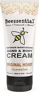 Beessential Fragrance Free Hand And Body Cream, Original Honey, 6 Ounce