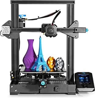 Official Creality Ender 3 V2 2021 3D Printer Upgraded with Silent Motherboard | Meanwell Power Supply | Tempered Carborund...