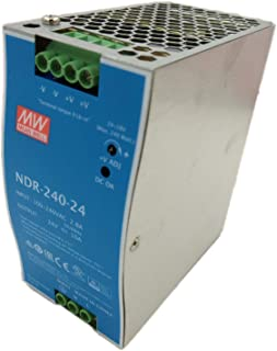 MW Mean Well NDR-240-24 24V 10A 240W Single Output Industrial DIN Rail Power Supply