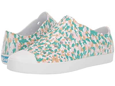 Native Shoes Jefferson (Shell White/Shell White/Konpeito Print) Shoes