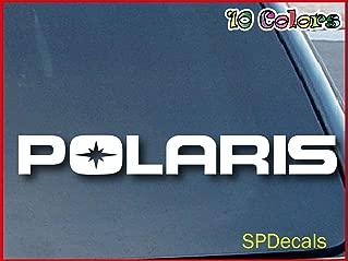 Polaris Jet Ski ATV Car Window Vinyl Decal Sticker 6