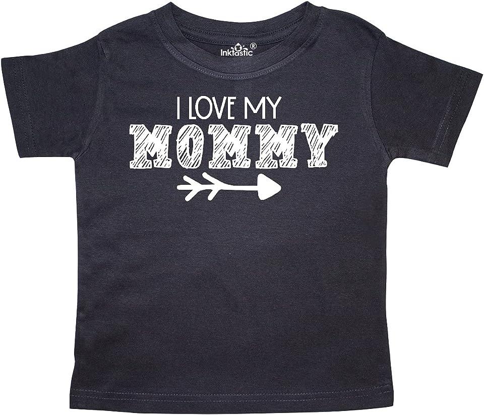I Love My Mommy- Arrow Toddler T-Shirt