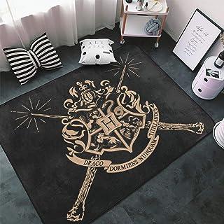 @Harry Potter Carpet Floor Mats Home Anti-skid Decor Area Rugs Rectangle Vintage