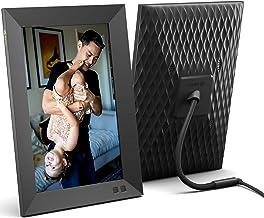 Nixplay 10.1 Zoll Smart Digitaler Bilderrahmen mit WLAN (W10F) - Schwarz - Videoclips und Fotos sofort per E-Mail oder App...