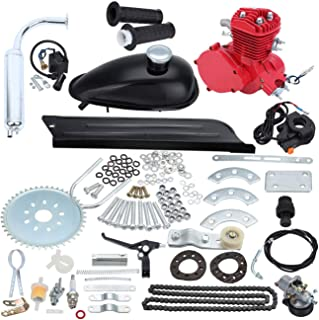 Sange 2 Stroke Cycle Petrol Bike Gas Motor Conversion Kit Air Cooling Motorized Engine..