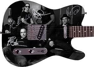 Dave Matthews Band Autographed Signed Custom Graphics Guitar