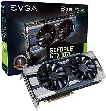EVGA GeForce GTX 1070 Ti FTW2 GAMING, 8GB GDDR5, iCX Technology - 9 Thermal Sensors & RGB LED G/P/M, Asynch Fan, Optimized...