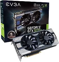 EVGA GeForce GTX 1070 Ti FTW2 GAMING, 8GB GDDR5, iCX Technology - 9 Thermal Sensors & RGB LED G/P/M, Asynch Fan, Optimized Airflow Graphics Card 08G-P4-6775-KR (Renewed)