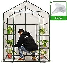 Quictent Mini Walk-in Greenhouse, 3 Tiers 6 Shelves Plants Garden Green House for Indoor Outdoor 56