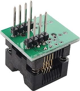 SOP8 to DIP8 Narrow-body Seat Wide 150mil Programmer Adapter Socket Converter Module for ALL-11 Series,LT-48 Series