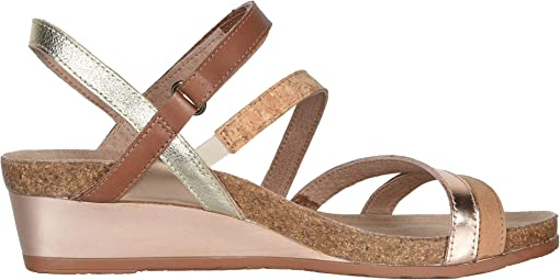 Nude Nubuck/Rose Gold/Mocha Rose/Radiant Gold Leather
