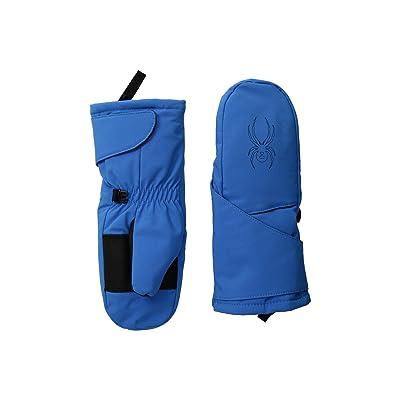 Spyder Kids Mini Cubby Ski Mitten (Toddler) (French Blue/Black) Ski Gloves