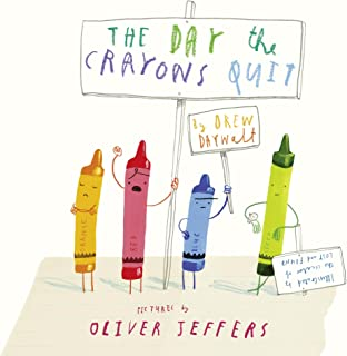 The Day the Crayons Quit by Drew Daywalt - Paperback