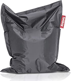 Fatboy USA SLM-DKG Original Slim Bean Bag Chair, Dark Grey