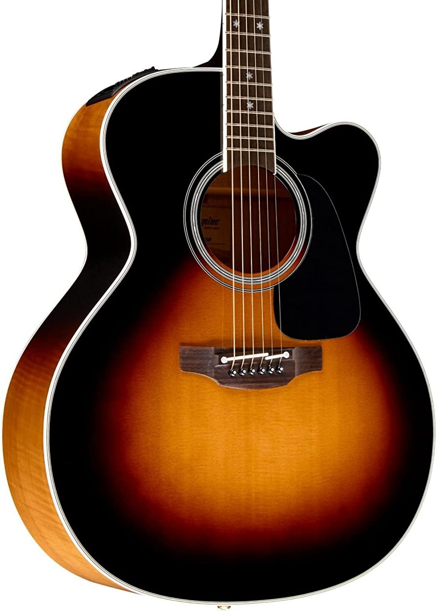 もろい振る舞い暗記するTakamine タカミネ Pro Series 6 Jumbo Cutaway エレアコ Sunburst アコースティックギター アコギ ギター (並行輸入)