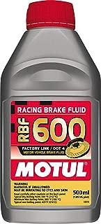 Motul std color MTL100949 8068HL RBF 600 Factory Line Dot-4 100 Percent Synthetic Racing Brake Fluid-500, 500 ml
