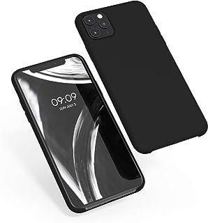 kwmobile Funda Compatible con Apple iPhone 11 Pro MAX - Carcasa de TPU para móvil - Cover Trasero en Negro
