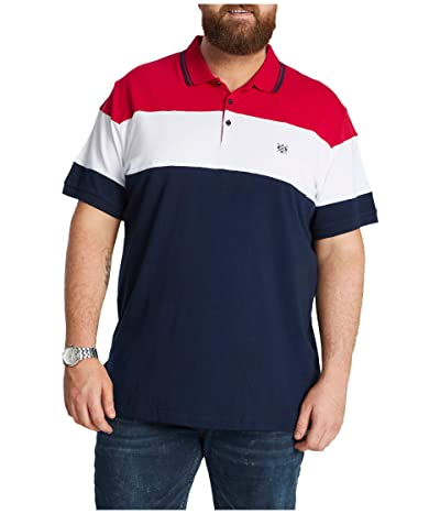 Johnny Bigg Big Tall Dangerfield Polo (Red) Men