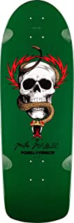 Powell-Peralta O.G. McGill Skull & Snake Green Skateboard Deck