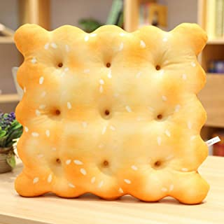 38cm Simulation Cookies En Forme de Coussin En Peluche Coussin Serviette