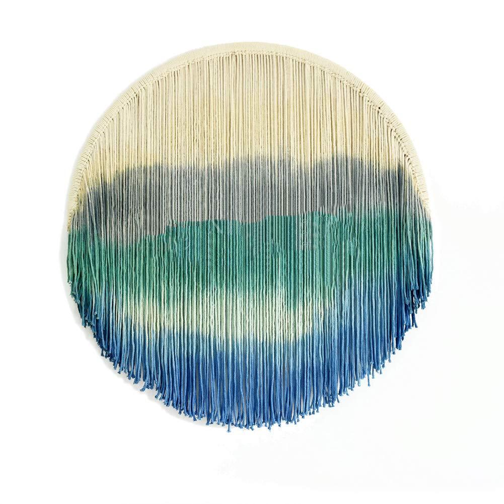 Gaeruite Tapicer/ía de Punto Atrapasue/ños de Punto de algod/ón Arte de Pared de macram/é Tapices de Pared Tejidos a Mano para la Vida Atrapasue/ños
