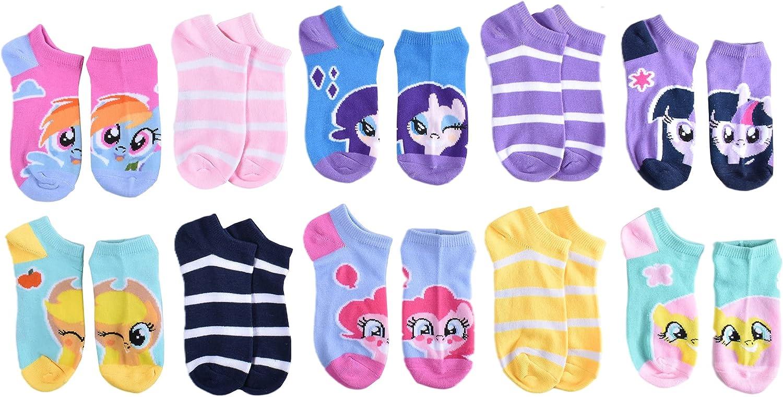 My Little Pony girls No Show Socks