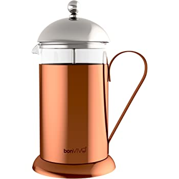 bonVIVO® GAZETARO II cafetera (French Press) de diseño y Prensa ...