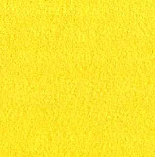 """Yellow Anti Pill Solid Fleece Fabric, 60"""" Inches Wide – Sold By The Yard"""