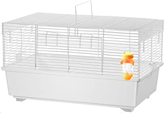 Aeon hum ハムスターケージ 大型 小動物 組立式 うさぎ 子猫 リス 60x35x33 (ホワイト)