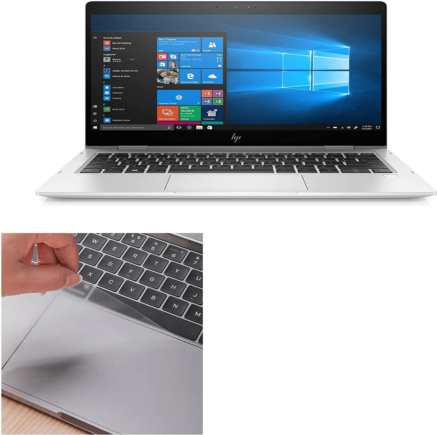 Over item handling ☆ Touchpad Protector for HP EliteBook Colorado Springs Mall Protec 830 G6 x360