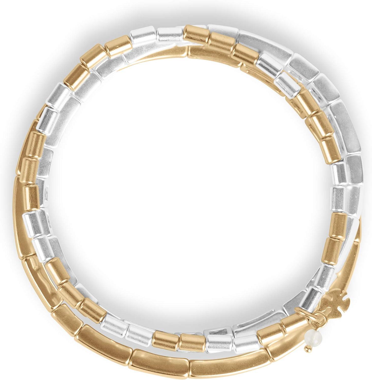 Lucky Brand Metal Bracelet Set, Two Tone