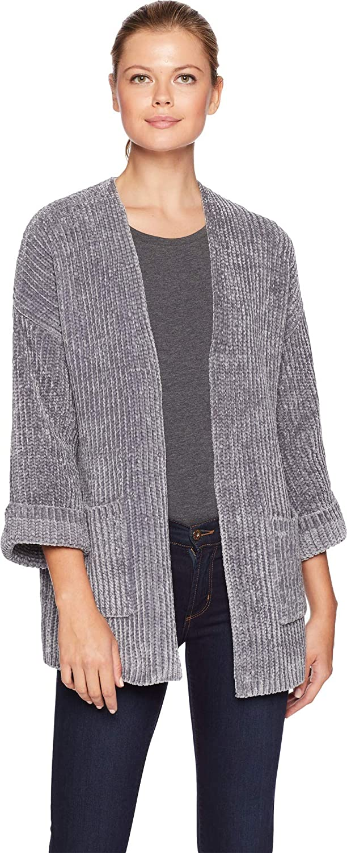 Elliott Lauren Womens Drop Shoulder Cardigan Pockets