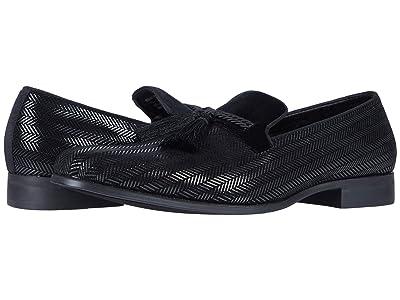 Stacy Adams Sonata Tassel Slip-On Loafer (Black) Men