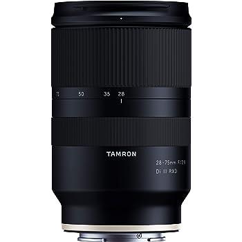 タムロン(TAMRON) 28-75mm F/2.8 Di III RXD ソニーEマウント用(Model A036)