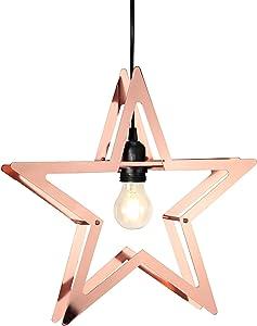 Star 793–41–Iluminación decorativa, plástico, cobre, 36x 6x 38cm