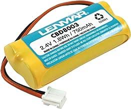 Lenmar CBD8003 2.4V 700mAh NiMH Replacement Battery for V-Tech 8003 cordless phone battery