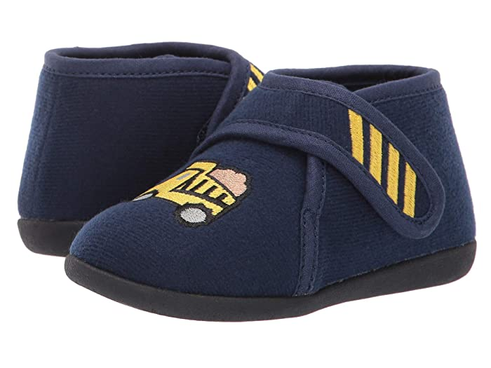 Image of Blue Dump Truck Slippers for Boys and Toddler Boys