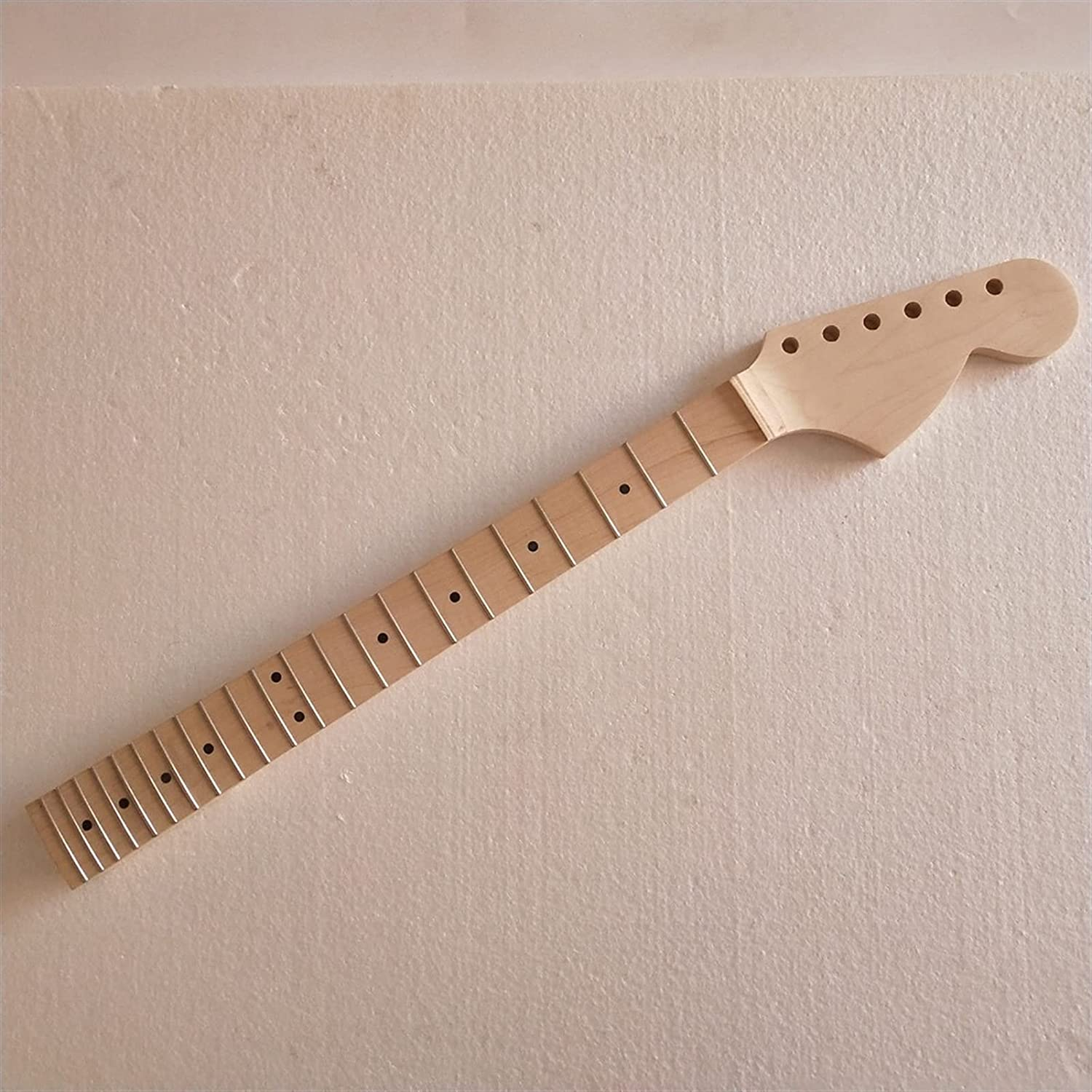 1pcs Unfinished Big Headstock Spring new work Maple 22 Re Guitar Parts Neck Fret Max 69% OFF