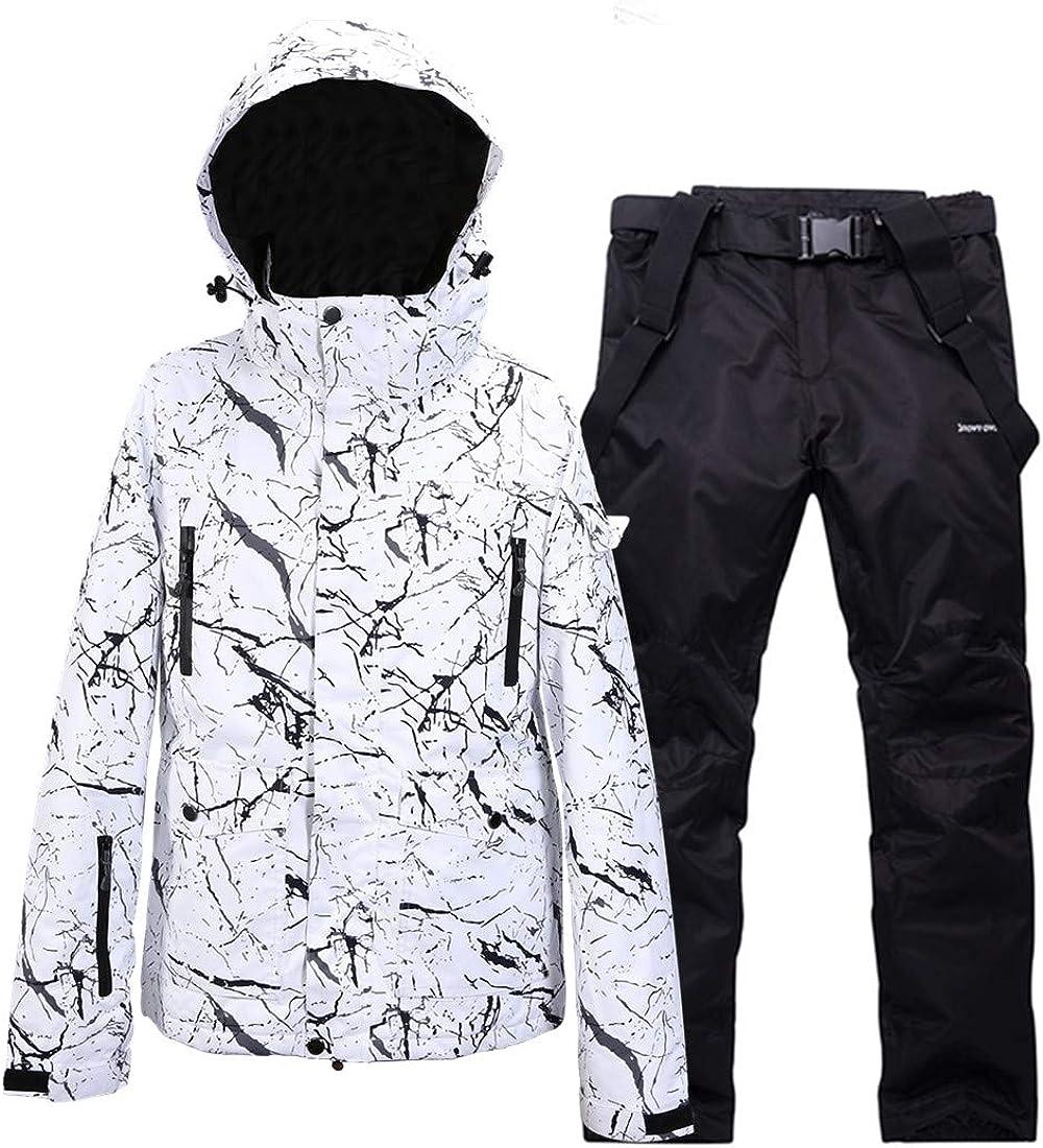 Womens Waterproof Ski Suit for Warm Skiing Long-awaited Detachab Snowboarding Jacksonville Mall