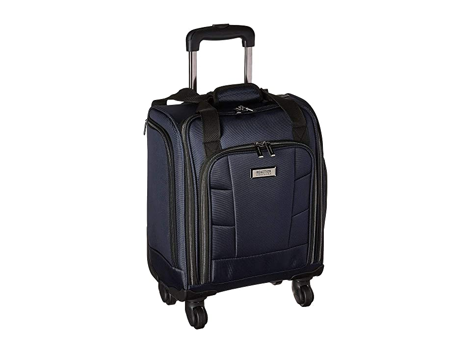 95566ef94de2 Kenneth Cole Reaction 16 Polyester 4-Wheel Business Underseater (Navy)  Carry on Luggage
