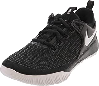 Nike Women's Zoom HyperAce 2 Volleyball Shoes (8, Black/White)