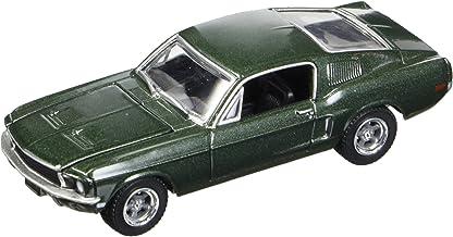 Greenlight 44721 1:64 Steve Mcqueen Bullitt 1968 Ford Mustang GT, Color Verde