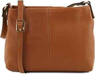 Tuscany Leather TLBag Soft Leather Shoulder Bag Cognac 3c703841944aa