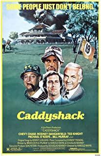 Caddyshack Poster Movie 24 x 36 Inches - 61cm x 92cm Chevy Chase Rodney Dangerfield Ted (Edward) Knight Michael O'Keefe Bill Murray Sarah Holcomb Brian Doyle-Murray