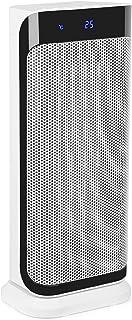 Klarstein Calefactor Chaval - Calefactor Vertical, Radiador, 2000 W, Giratorio, Apagado automático, No se sobrecalienta, Seguro, Mando a Distancia, Silencioso, Ocupa Poco Espacio, Blanco