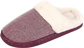 Best womens purple fuzzy slippers Reviews
